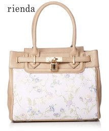 rienda(BAG)/【rienda】【rienda】OLD ROSE FLOWER PRINT TOTE S/501333461