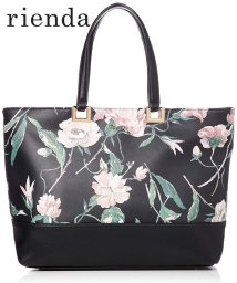 rienda(BAG)/【rienda】【rienda】OLD ROSE FLOWER PRINT TOTE L/501333462