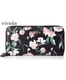 rienda/【rienda】【rienda】OLD ROSE FLOWER PRINT ROUND WALLET/501333464