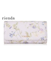 rienda(BAG)/【rienda】【rienda】OLD ROSE FLOWER PRINT FLAP WALLET/501333465