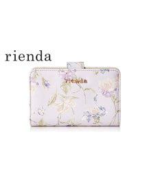 rienda/【rienda】【rienda】OLD ROSE FLOWER PRINT MINI ROUND WALLET/501333466