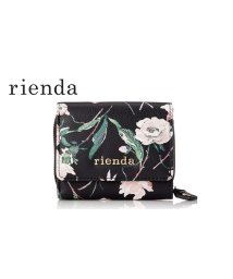 rienda(BAG)/【rienda】【rienda】OLD ROSE FLOWER PRINT MINI WALLET/501333467