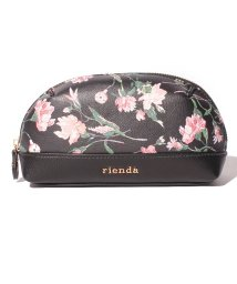 rienda(BAG)/【rienda】【rienda】OLD ROSE FLOWER PRINT POUCH/501333468