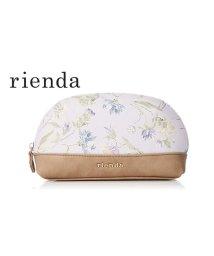 rienda/【rienda】【rienda】OLD ROSE FLOWER PRINT POUCH/501333468