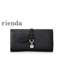 rienda/【rienda】【rienda】BASIC SHRINK CHARM FLAP WALLET/501333473