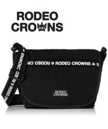 RODEO CROWNS/【RODEO CROWNS】【RODEOCROWNS】LOGO NYLON FLAP SHOULDER/501333481