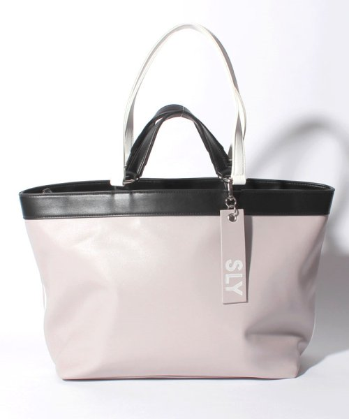 SLY(BAG)(スライ(バッグ))/【SLY】【SLY】SPORTS MIX 2WAY TOTE/S09100001