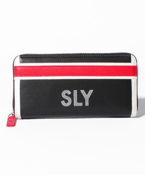 SLY(BAG)(スライ(バッグ))/【SLY】【SLY】SPORTS MIX ROUND WALLET/S09200003