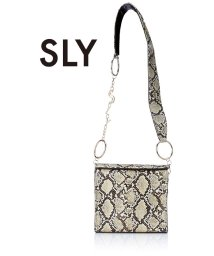 SLY(BAG)/【SLY】【SLY】LOGO CHAIN SHOLDER/501333491