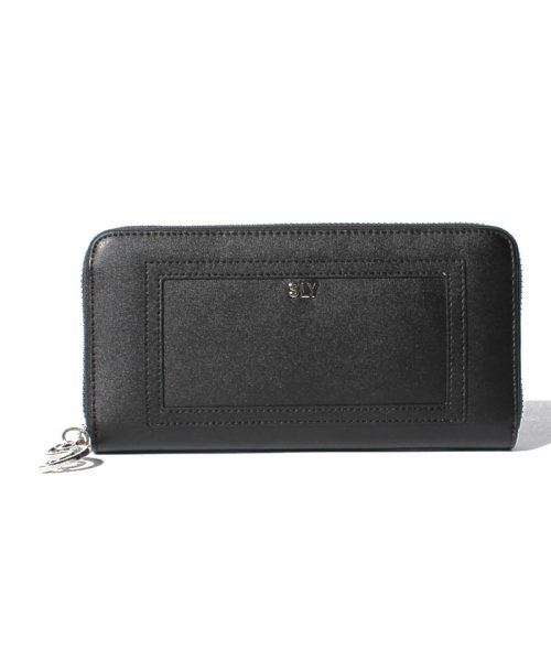 SLY(BAG)(スライ(バッグ))/【SLY】【SLY】LOGO CHAIN ROUND WALLET/S09200009