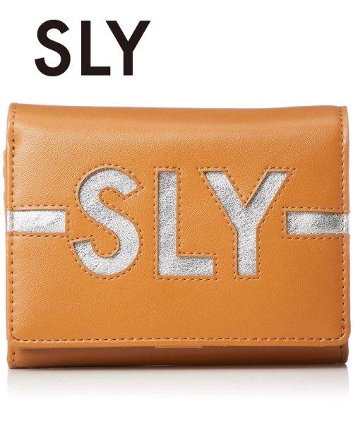 SLY(BAG)(スライ(バッグ))/【SLY】【SLY】LOGO WALLET FLAP WALLET/S09200013