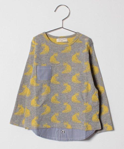 SENSE OF WONDER(センスオブワンダー)/キツネ柄レイヤード風Tシャツ/1284203