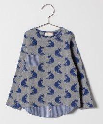 SENSE OF WONDER/キツネ柄レイヤード風Tシャツ/501346877