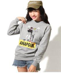 ANAP GiRL/ガールイラストビッグトップス/501369959