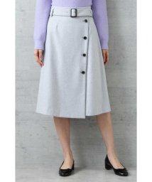 NATURAL BEAUTY BASIC/アシメトレンチスカート/501370163