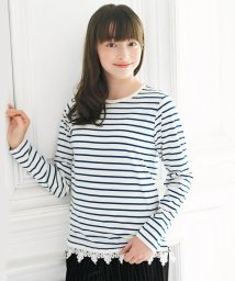 Little Princess/子供服AILES 001 ボーダー柄トップス/501370770