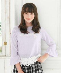 Little Princess/子供服ニットソーAILES210107 160cmグレー/501370778