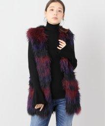JOINT WORKS/UN3D. mix eco-fur vest/501372903