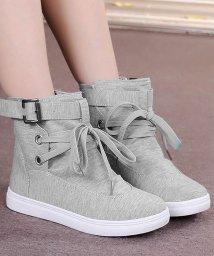 miniministore/スニーカーブーツ レディース 厚底 リボン ショートブーツ 歩きやすい靴 ローヒール/501373958
