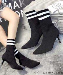 miniministore/ブーツ ソックスブーツ レディースブーツ ヒール 靴 ショートブーツ 韓国/501373971