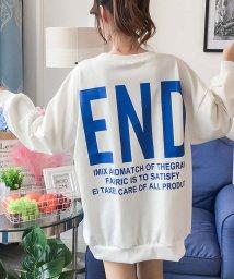 miniministore/ロング丈 トップス レディース オーバーサイズ tシャツ 長袖 ゆったり カットソー/501373977