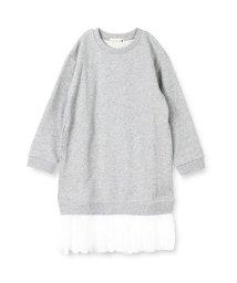 branshes/裾レース長袖ワンピース/501329879