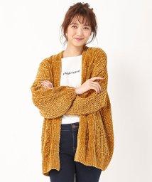 INGNI/ブライトモールミドル丈カーデ/501348877
