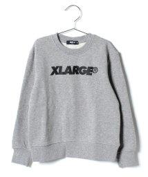 XLARGE KIDS/ロゴ入り裏起毛トレーナー/501364808