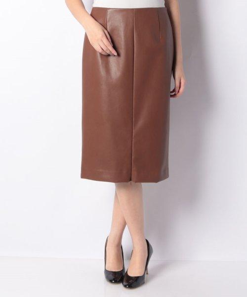 LAPINE BLEUE(ラピーヌ ブルー)/ロイヤルレザータイトスカート/239545