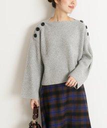Spick & Span/カシミヤウール アゼショートプルオーバー◆/501374757