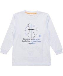 CONVERSE/コンバース/キッズ/JRプリントロングスリーブシャツ/501374871