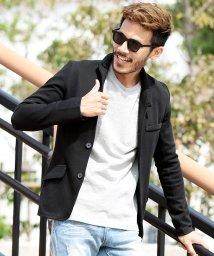 JIGGYS SHOP/カルゼイタリアンカラージャケット / イタリアンジャケット メンズ ジャケット アウター/501375029
