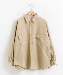 amelier MAJESTIC LEGON OUTLET/袖リボンビッグシャツジャケット/501375231