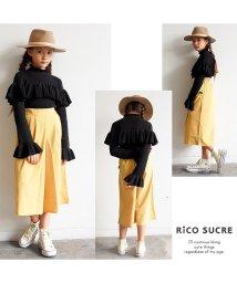 RiCO SUCRE/フリルウォッシャブルニットプルオーバー/501376647