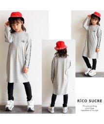 RiCO SUCRE/袖ロゴテープワンピース/501376649