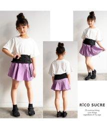 RiCO SUCRE/チャーム付きプリーツスカパン/501376650