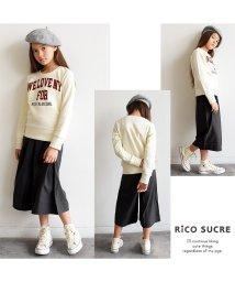 RiCO SUCRE/ロゴプリントトレーナー/501376654