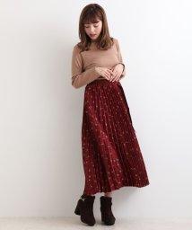 MAJESTIC LEGON/ベルト付プリーツスカート/501093034