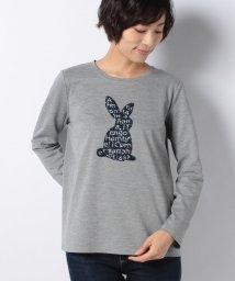 CARA O CRUZ/ラビットTシャツ/501312968