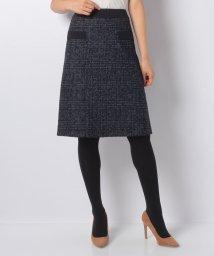 CARA O CRUZ/グレンチェックのスカート/501312971