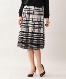 TRANSWORK/【ウォッシャブル】【吸水速乾】【UV対策】カラーキュービックジャージースカート/501322045