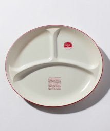 Afternoon Tea LIVING/ロゴ柄オーバル仕切りプレート/501349506