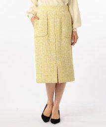 NOLLEY'S/ループヘリンボンツイードタイトスカート/501366800
