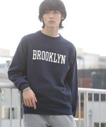 coen/シティロゴプリント裏毛スウェット/501370346