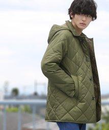coen/LIMONTA(リモンタ)×KOMATSU(小松精練)キルトフーデッドコート/501372520