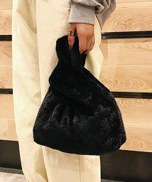 miniministore/フェイクファーバッグ レディース 穴に通す ファーショッパーバッグ おしゃれ 軽量 鞄/501376532