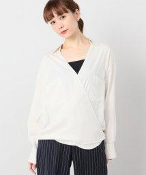 Spick & Span/カシュクールシャツ/501378319