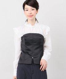 Spick & Span/レーヨンサテン ビスチェ/501378321