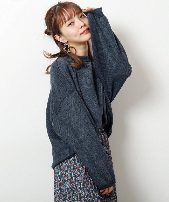 【WEB限定】サカリバボリューム袖ゆったりプルオーバー