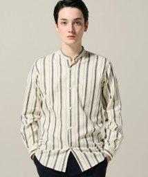 EDIFICE/キモウマルチストライプバンドシャツ/501380594